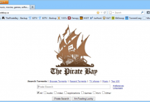 Pirate bays Browser